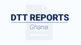 Articlcle on DTT Report BNE Ghana