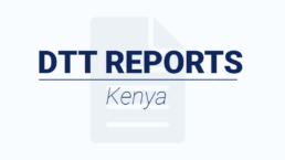 DTT in Kenya article