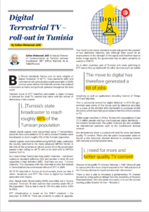 Image preview of the pdf article on DTT in Tunisia