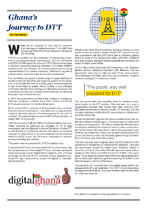 Image preview of the pdf article on DTT in Ghana